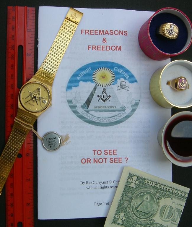 Pledge of Allegiance Secrets by Dr. Rex Curry, re: Freemasonry Freemasons Masons, Masonry, Masonic & Freedom