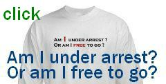 Am I under arrest ? Or am I free to go ?