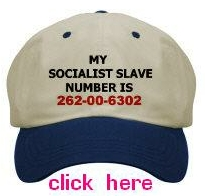 my socialist slave number is 262-00-6302 baseball cap