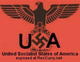 USSA UNITED SOCIALIST STATES OF AMERICA - USSR UNION OF SOVIET SOCIALIST REPUBLICS Fascism, Nazism, Third Reich, Communism