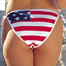 Fetish pledge of allegiance, francis bellamy, Edward Bellamy, pornography obsenity desecration bikini