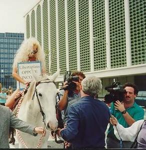 Lady Godiva Halloween Costume Guavaween Ybor City Tampa Florida