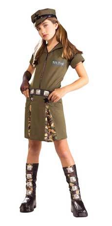 Military Major Flirt Halloween Costume Military Socialism