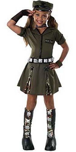Army Halloween Costume Major Flirt Military Socialism