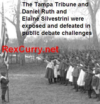 Daniel Ruth, Tampa Tribune, learned about the