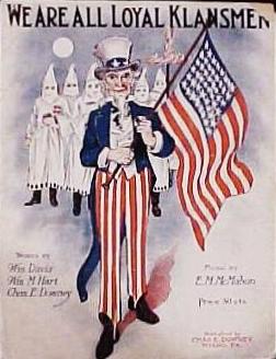 KKK Ku Klux Klan Pledge of Allegiance Joseph Goebbels Nazi Sozi