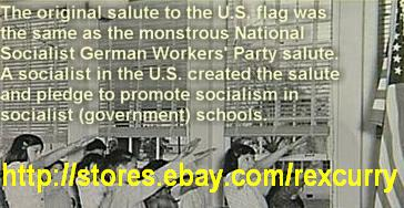 Seig Heil Heil Hitler Hitlergruss must stop! Nazism, Socialism, Fascism in the Pledge of Allegiance