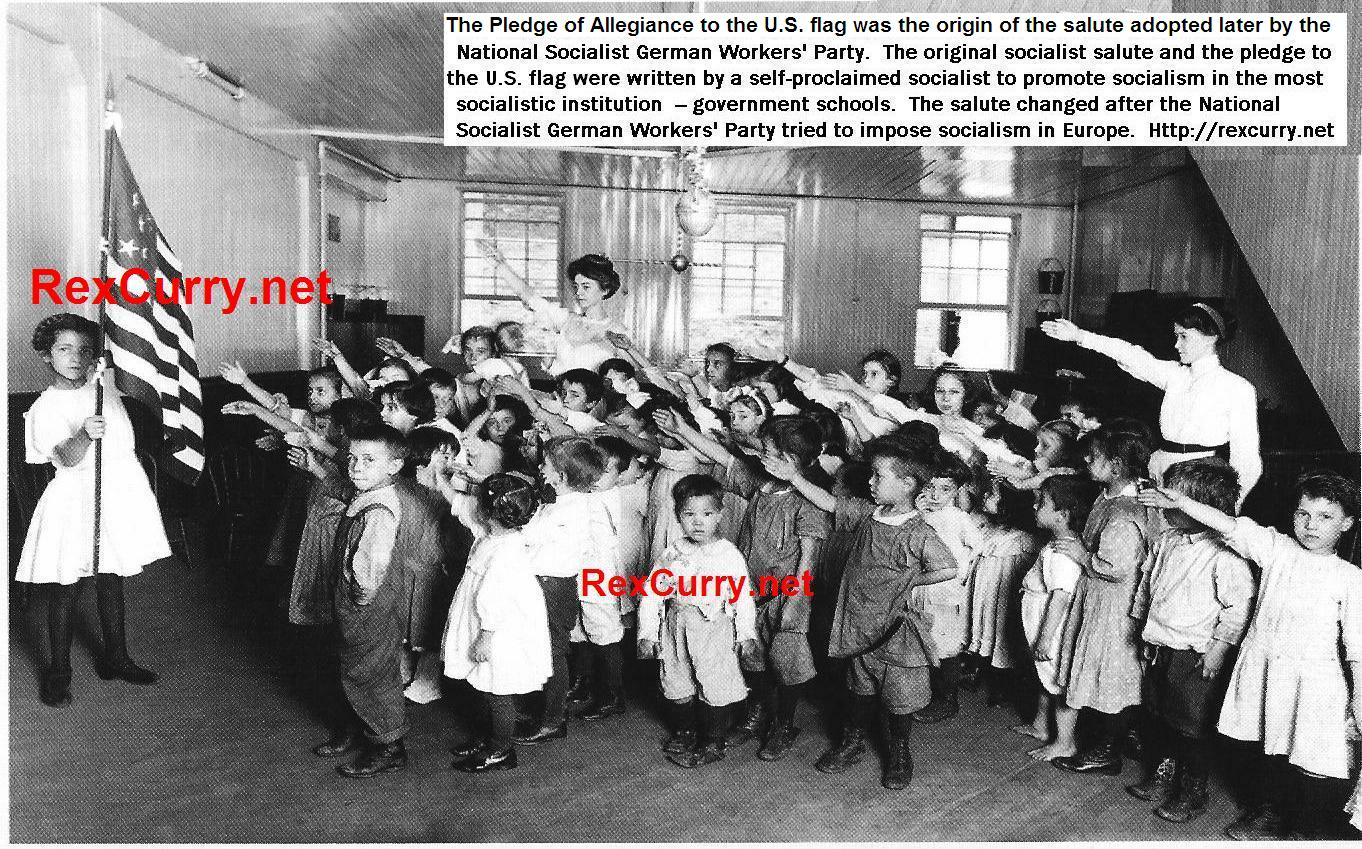The bellamy salute &; the bellamy swastika