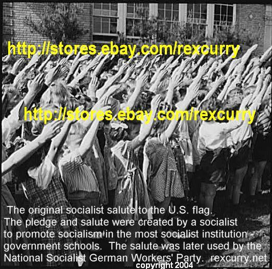 Charles Fenno Jacobs Photographer Pledge of Allegiance teachers schools education high schools elementary schools, instructors The Pledge of Allegiance & the original socialist salute to the U.S. flag