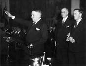 Hugh Johnson, the Nazi Salute, Roosevelt FDR & the Pledge of Allegiance