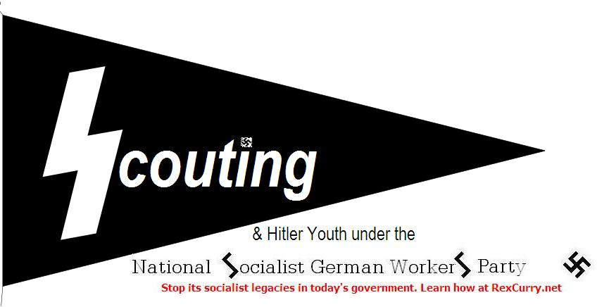 Hitler Youth Jugendschaftswimpel nazi scouting