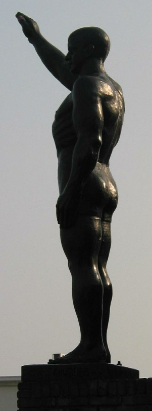 Olympic Salute Gra Rueb Amsterdan Netherlands
