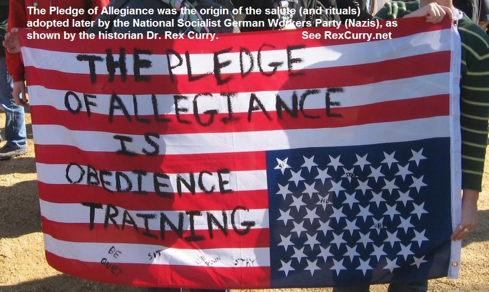 FRANCIS BELLAMY, PLEDGE OF ALLEGIANCE, RACISM & SOCIALISM Image ...