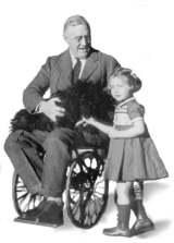 Roosevelt FDR wheelchair Dr. Strangelove Nazi salute