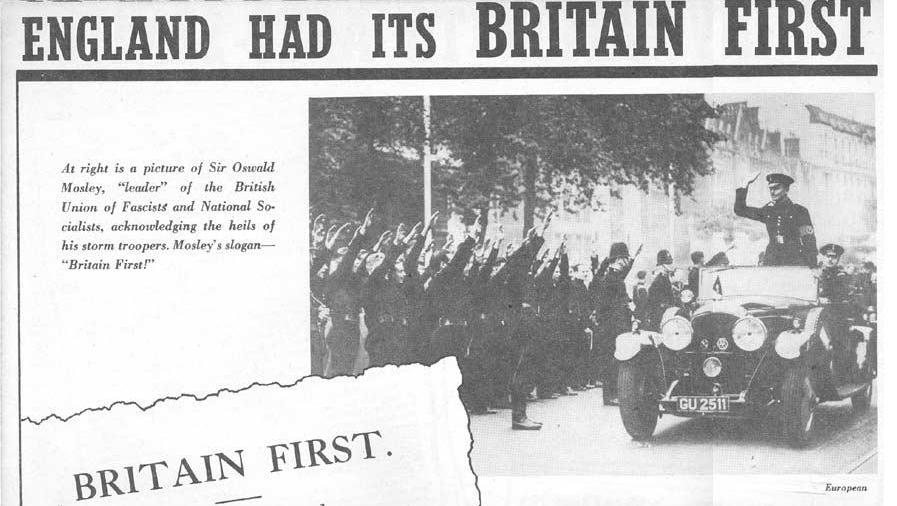 British Union of Fascists & National Socialists & Sir Oswald Mosley Nazism, Fascism, Third Reich, Hitler