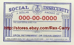 social security cards & social security numbers