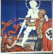 1932 National Socialist election poster