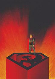 SOCIALIST SUPERMAN kills millions Socialist Supermen