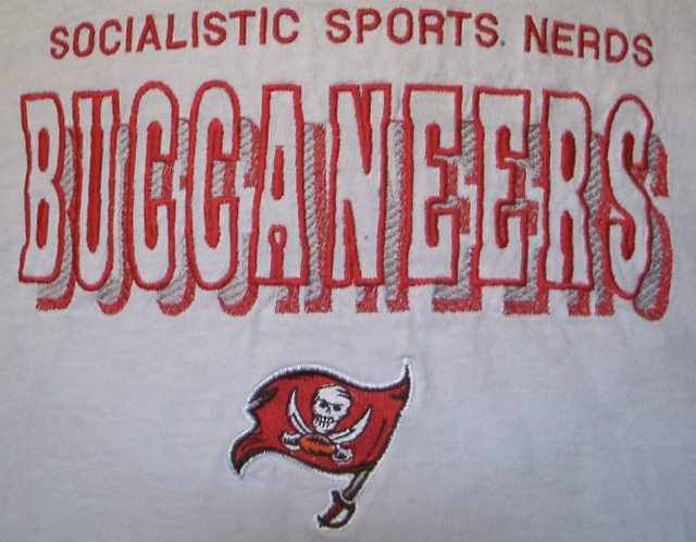 SPORTS NERDS ARE SOCIALISTS TAMPA BAY BUCCANEERS FOOTBALL SOCIALISM LOSERS