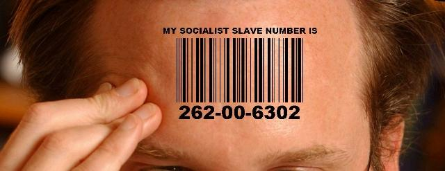 social security cards numbers socialist slave barcode tattoo
