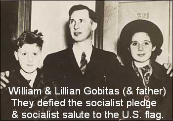 Pledge of Allegiance Gobitas Gobitis William & Lillian