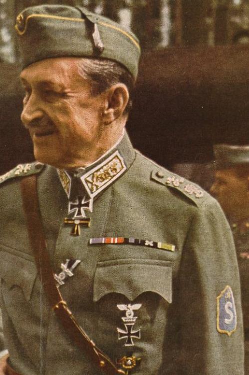 Gustaf Mannerheim Finnish ally Adolf Hitler