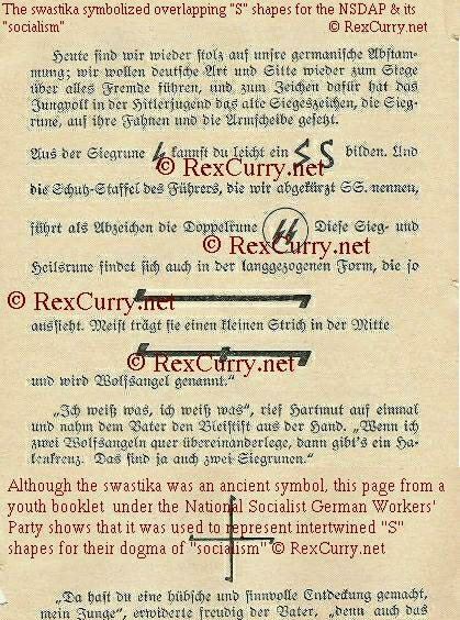 Hitler Youth booklet exposes the swastika
