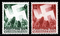 Nazi Germany stamps philately & Philatelist Dr. Rex Curry