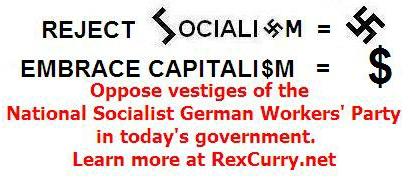 Swastika Swastikas Capitalism Capitalists