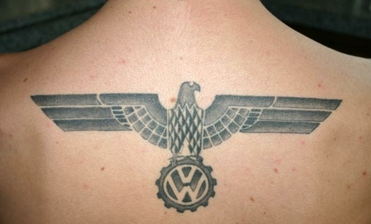 Volkswagen VW tattoos swastika