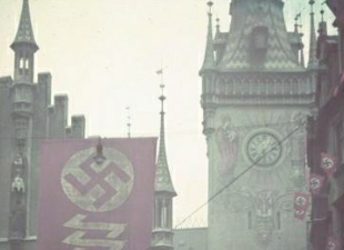 "swastika odd ""S"" shaped symbol of national socialists"