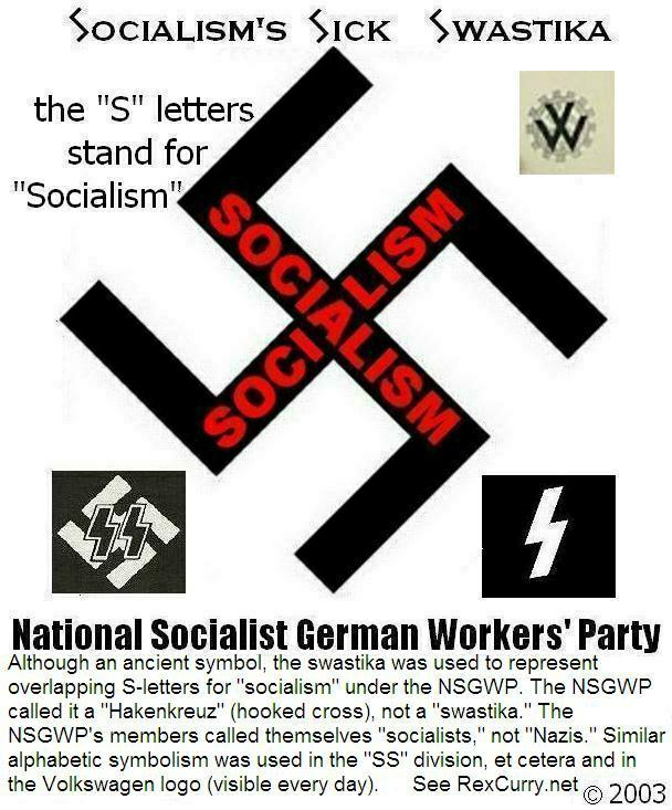 Socialism's Sick Swastika !