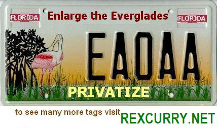 Enlarge the Everglades. Privatize. FREE MARKET ENVIRONMENTALISM Save conchs with private property & freedom!