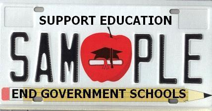 support education: end government schools