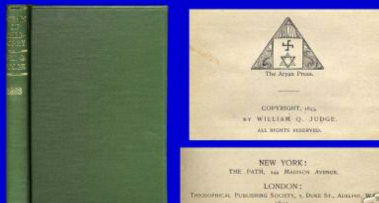 Aryan Press of Theosophical Society James B. Upham, Nazism Fascism Socialism Third Reich