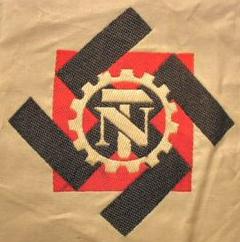 Todt Organization armband Teno Command Third Reich