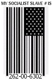 Flag tattoo Social Security Slave number