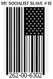 Flag tattoo Social Security Slave number