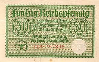 german nazi money swastika ussr